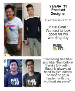 Fuel Fit Man lose weight effectively