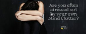 Woman is stressed and depressed.