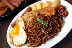 oily noodles