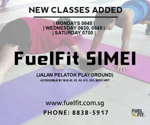 Fit woman singapore lose weight workout in the east simei