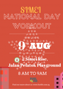 Simei National Day Workout Final
