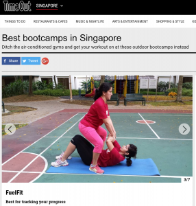 Fuelfit is singapore's best fitness bootcamp for tracking results and progress