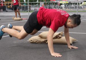 Fuel Fit Singapore OCR Training Workshop Men Beginner Red X Games (Yanjie 01)