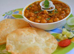 FuelFit Snack Chole Bhatura