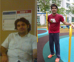 Rohit's Fitness Journey - From Couch Potato to Fitness Coach