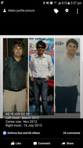 Rohit's Transformation Pictures
