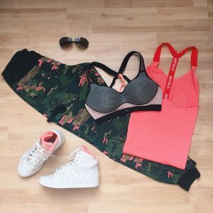Pack your workout attire